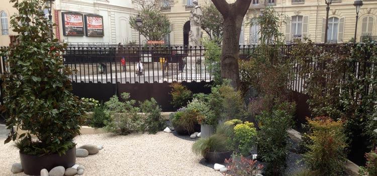 Jardinier paysagiste aix en provence am nagement de - Mobilier jardin teck entretien aixen provence ...