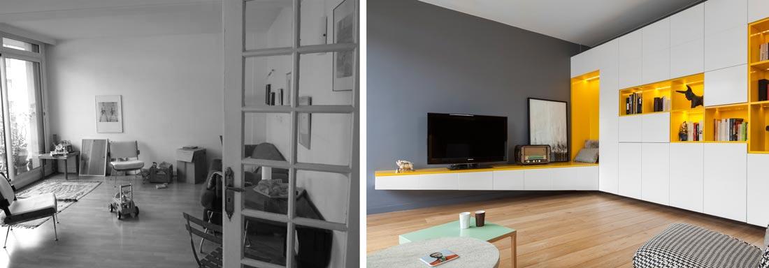 Decorateur interieur aix en provence photo avant aprs de la dcoration duintrieur duun sjour dans un appartement