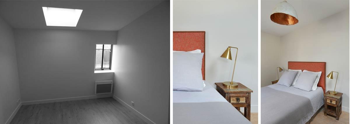 Avant - Après : Décoration d\'un salon et séjour de 40m2