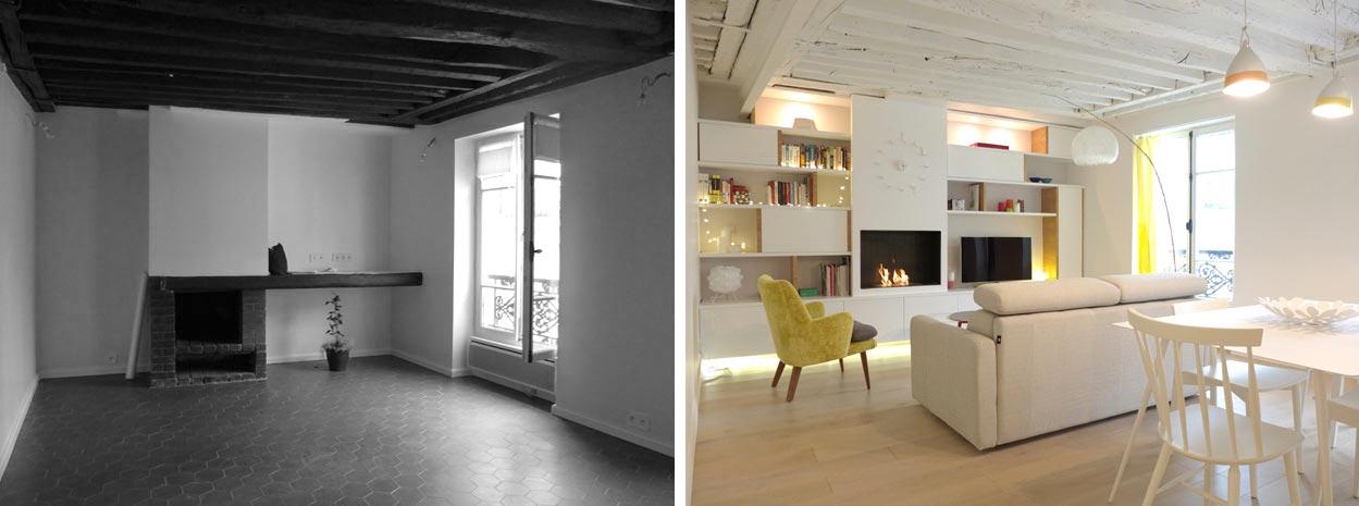 appartement 2 pièces 42m2 | aix-en-provence - Architecte D Interieur Aix En Provence