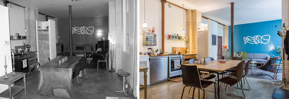 relooking d 39 un loft 62m2 aix en provence. Black Bedroom Furniture Sets. Home Design Ideas