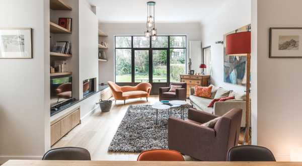 Interior makeover of a single storey apartment
