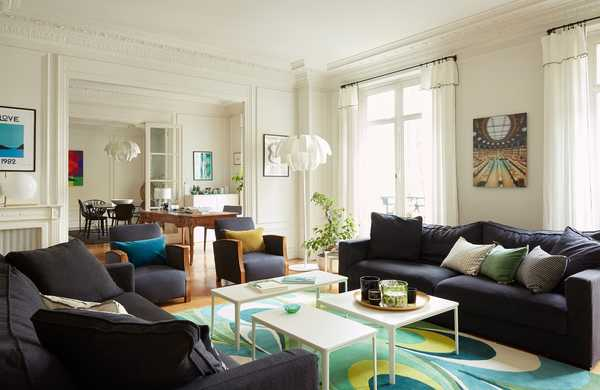 Reorganization of a Haussmannian apartment